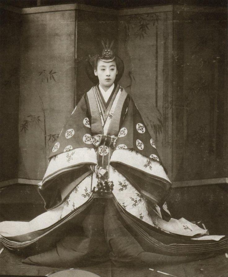山階宮菊麿王妃常子(やましなのみやきくまろおうひひさこ)殿下 (後妃) Yamadera Shrine Kikuro Kikuro Nagako (Masukina Namakirakuho Hisako) Your Highness (Latter Guess)