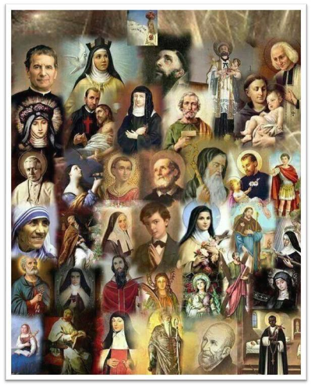 |Day 6 Novena to ALL THE SAINTS! #pinterest  Glorious Saints, beloved brothers and sisters in Christ, served God in humility and confidence on earth. Now you enjoy His beatific vision in heaven. You persevered till death and gained the crown of eternal life................ Awestruck