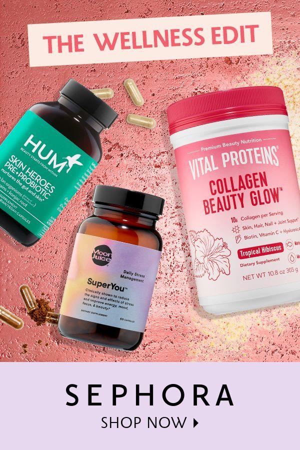 Get skin looking glowy and hair feeling flowy. Shop now >