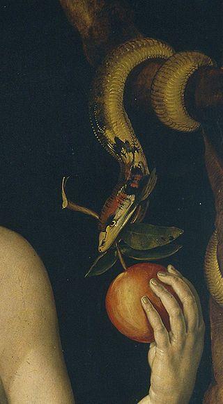 Duerers Paradiesschlange 1507 - Adam und Eva (Dürer) – Wikipedia