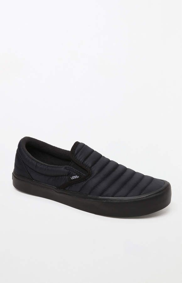 9e72d4101e Quilted Slip-On Lite Black Shoes  heel cushioning UltraCush