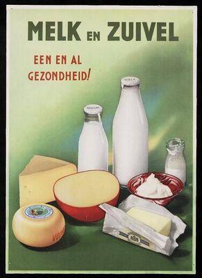 Melk en zuivel- een en al gezondheid!