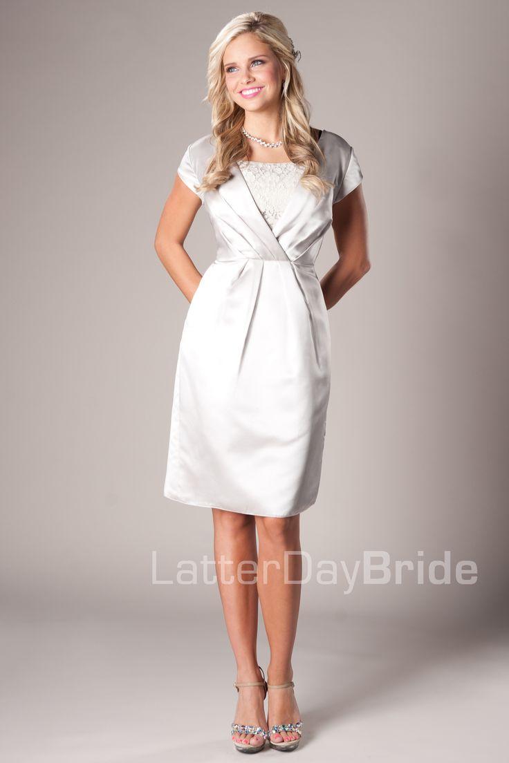 6f89e6a60894c White Modest Prom Dresses - Down To Earth Bali