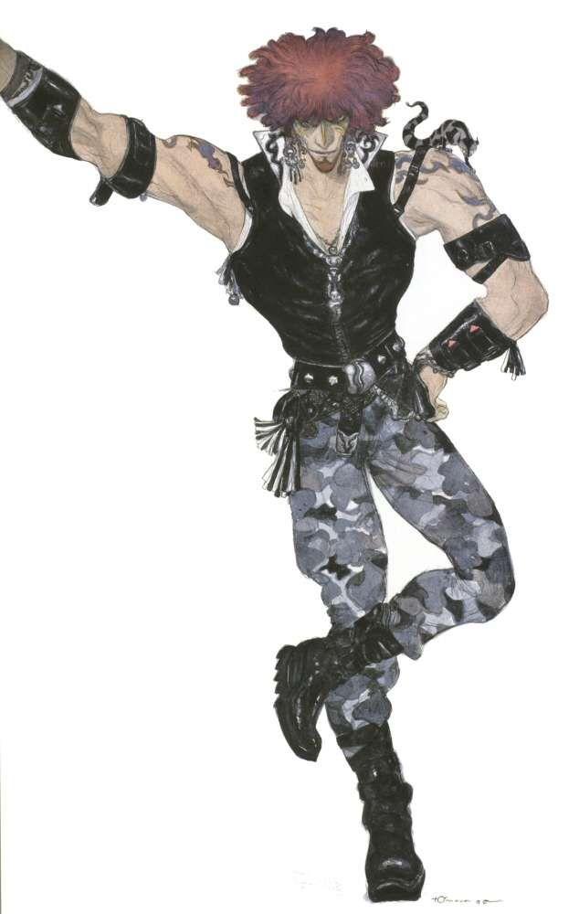 Yoshitaka Amano - Amarant -Final Fantasy IX
