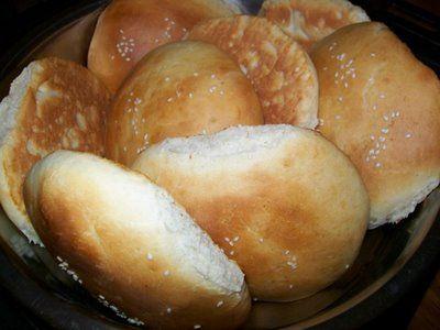 Chifle pentru pljeskavica, hamburger sau sandviciuri | Retete ca la mama