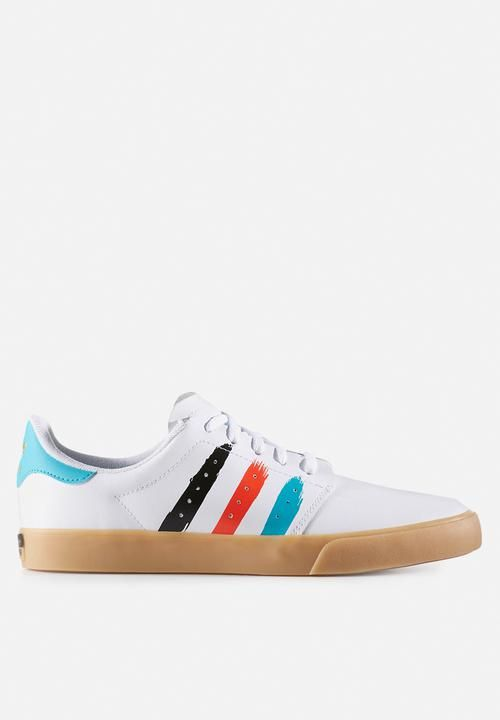 adidas Originals Seeley Court-BW0659-FTWR White/Energy Blue S17/Energy S17 adidas Originals Sneakers | Superbalist.com