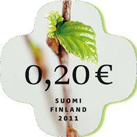 0,20€ Postimerkkejä (Saa laittaa millo vaa paketteihi mukaa)