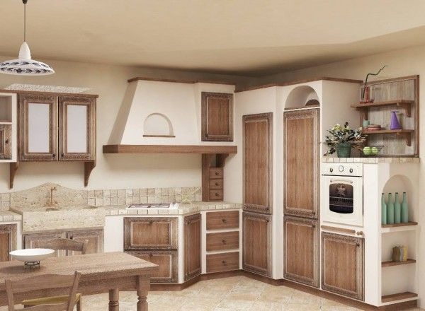 cucine in muratura (foto) | tempo libero pourfemme | deco ... - Leroy Merlin Mobili Cucina