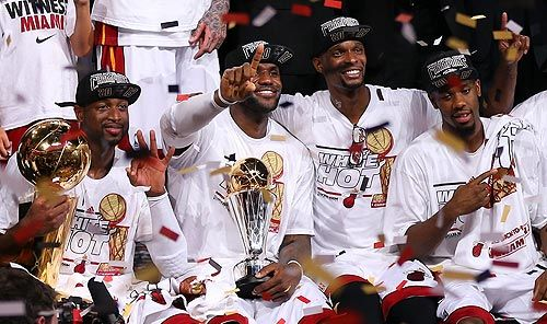 The Miami Heat's second consecutive NBA championship gave ABC big ratings Thursday night. The game's metered-market rating of 17.7 was the second highest-rated NBA game the network has ever aired, and it dominated the night.