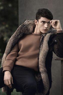 Matthew Holt for Zara Menswear Campaign