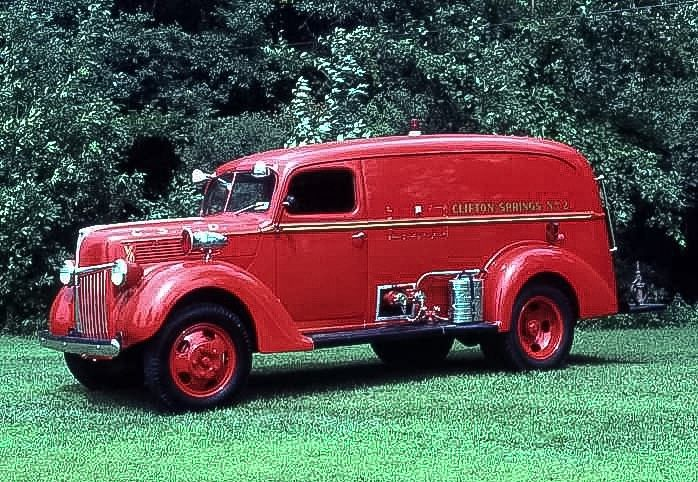 1940 Ford Buffalo 250gpm Hale Pumper...Foster Hose Company, Clifton Springs, NY....