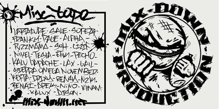 Du Bon Rap Mixtape MDP