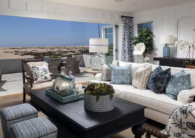 Coastal Decorating Ideas. Coastal Interiors. Coastal Decor. Coastal Color  Palette #Coastal #