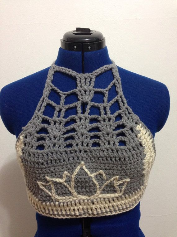 Hey, I found this really awesome Etsy listing at https://www.etsy.com/listing/235482435/lotus-crochet-crop-top-custom-crop-top
