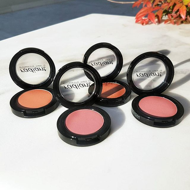 Blush is a must, especially during the winter months, since it's the one product that will add a healthy glow to your complexion. Try the rich shades of Blush Colors No 102, 111, 112, 121.  #blush #blushes #radiantprofessional #blushcolor #makeup #color #winter