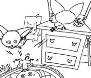 Skippyjon Jones - free coloring pages & activity pages, etc.