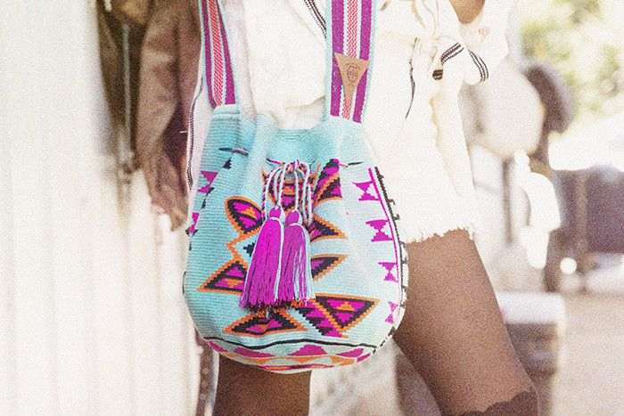 Love these South American bags, the colors are so vibrant! WAYUU TRIBE