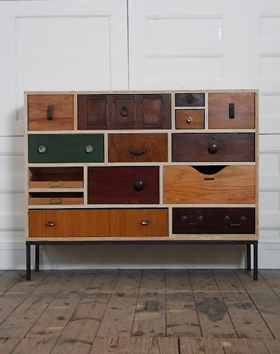 Rupert Blanchard. London, designer & maker of reclaimed furniture http://www.stylingandsalvage.com/p/projects.html