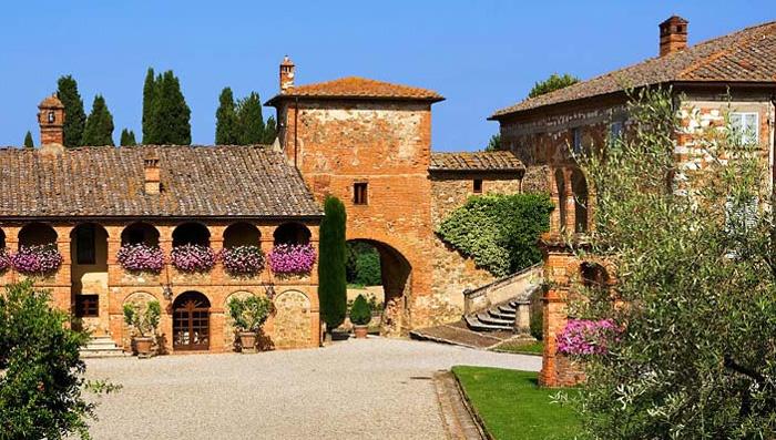 L,amarosa in tuscany | Fattoria l'Amorosa | Sinalunga | Casa Santa Pia, Holiday house in the ...