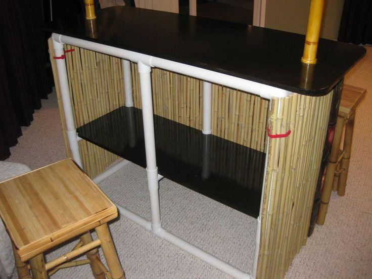 PVC Tiki Bar : Finalize & Accessorize