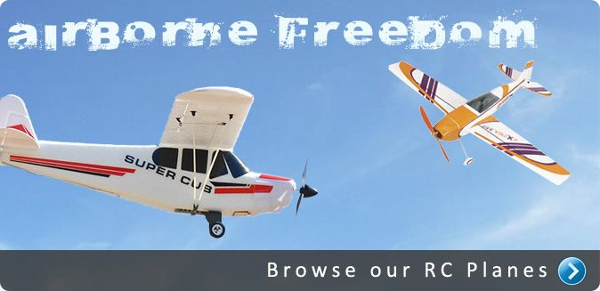 RC plane store. Best radio controlled planes online shop ever!!