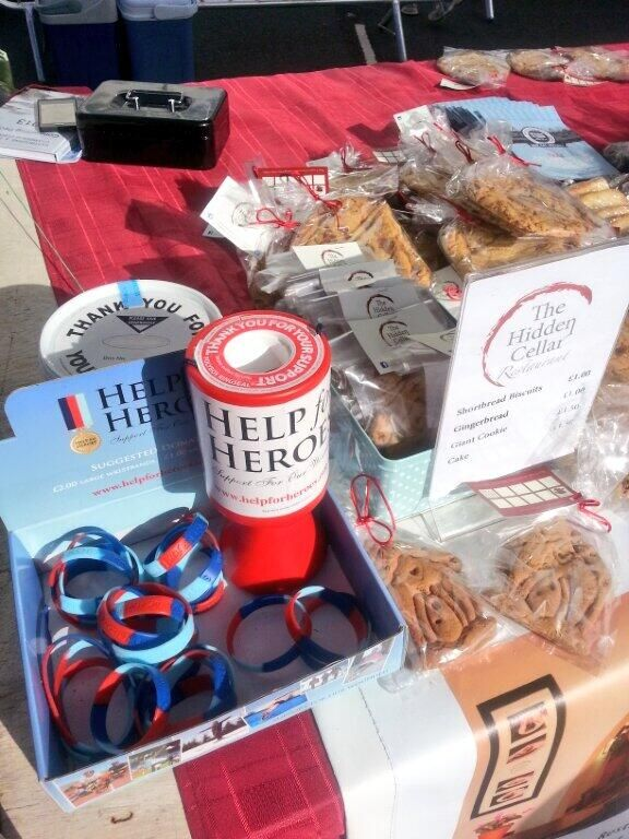 Collecting for Help for Heroes