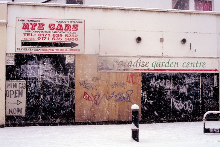 Peckham, Rye Lane Photo: Jake Tilson, 1990s