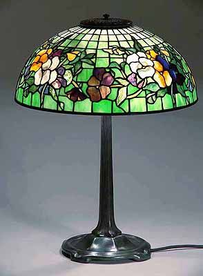 Original Tiffany Lamps Tiffany Lamp Pansy Cool Lamps