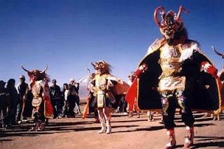 Bailes del norte de Chile.