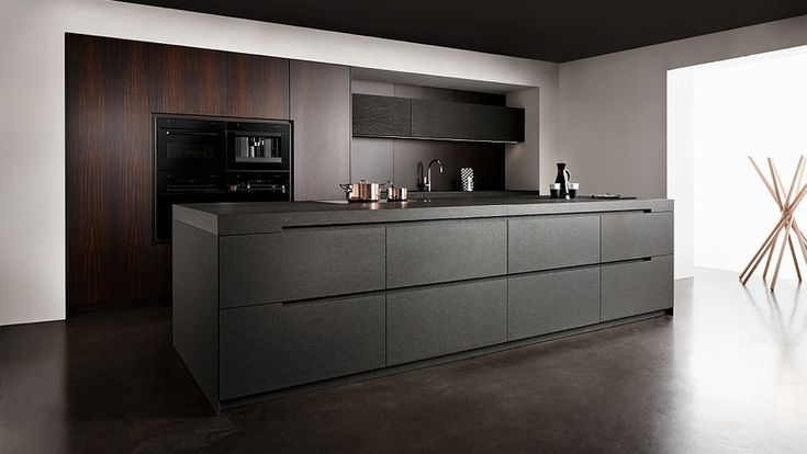 Nero Assoluto, by Eggersmann. Part of the UNIQUE collection, where the focus is on individuality and also exceptional and exquisite materials.