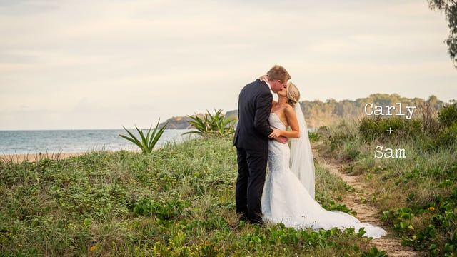 """Carly and Sam get married at the lovely Opal Cove Resort in tropical Coffs Harbour.  Music: """"Moments Like This"""", The Afters, licenced via Songfreedom"""
