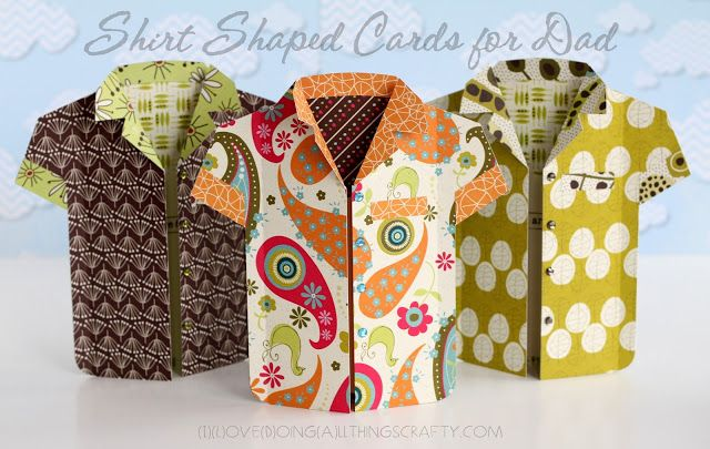 Check out Ilda's Shirt Cards from SUMMER HOLIDAY SVG KIT.  Look at all the different looks you get just by changing out the paper!  Perfect for the man in your life for birthdays or any special occasion!  Awesome!