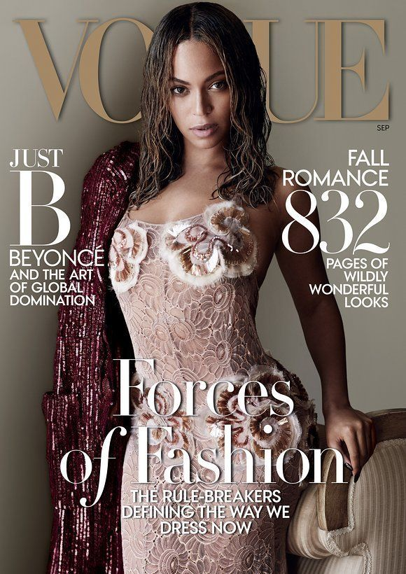 Beyoncé Doesn't Say One Word In The Vogue September Issue