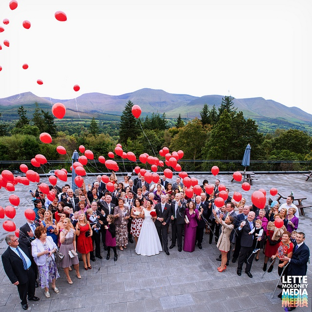 Balloons Group, By Lette Moloney © All Rights Reserved