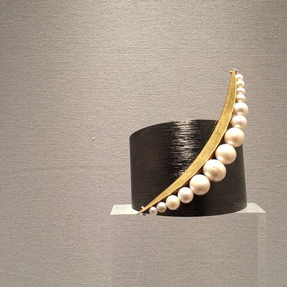 """Bracelet exclusively made for the """"New Territories"""" exhibition at Ilias Lalaounis Museum"""