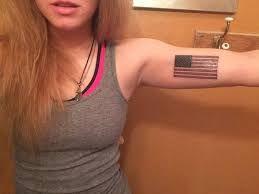 Image result for american flag rebel hippy girl