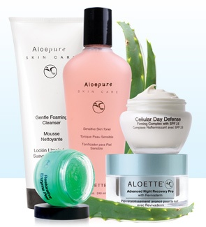 Just started using the Aloette products... so far I am really liking them.
