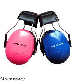 Peltor Kid Quality Headband Style Ear Muffs + FREE Got Ears? Plush Storage Bag! (NRR 22)