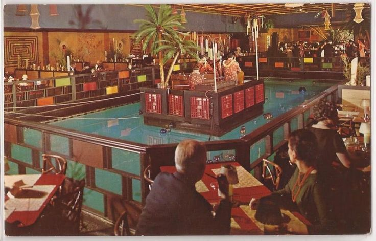 San Francisco Ca Postcard Fairmont Hotel Quot Tonga Room