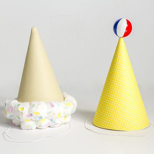 Create festive hats for your next summer season soiree.