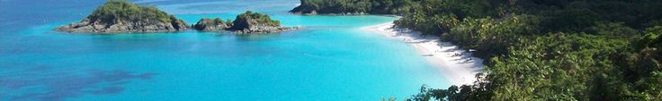 VI Natl Park - Trunk Bay Beach, considered one of the 10 best beaches in the world is home to the underwater trail.