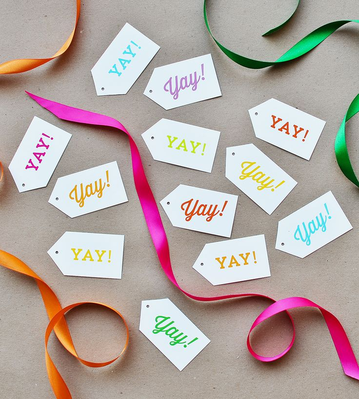 invitation wedding wording gifts%0A Yay Gift Tags  Set of    by Liddabits on Scoutmob