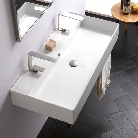 Scarabeo Teorema 2 0 Doppel Aufsatz Oder Hangewaschtisch Weiss Mit Bio System Beschichtung 5106r100 In 2020 Badezimmer Klein Tolle Badezimmer Badezimmer Waschbecken