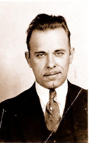 John Dillinger- 1930s Gangster Real men are old school gangsters:)