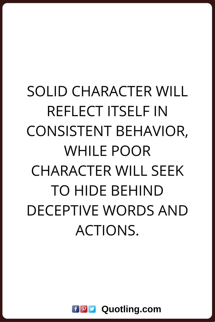 Quotes On Character Prepossessing 22 Best Character Quotes Images On Pinterest  Character Quotes