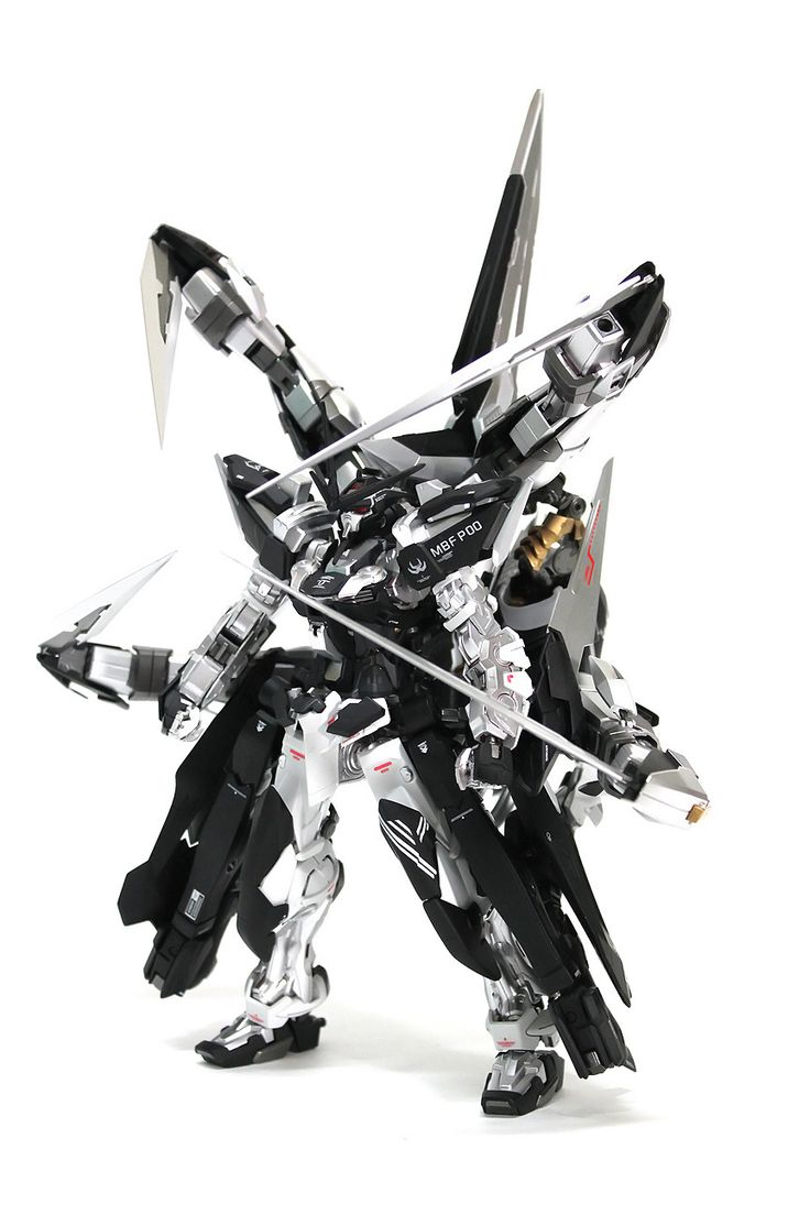 GUNDAM GUY: 1/100 Gundam Astray Silver Frame 4th Cancer - Custom Build