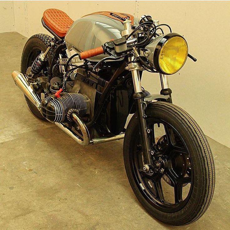 Another shot of @arjanvandenboom's latest BMW #caferacer. A gentleman's rocket.