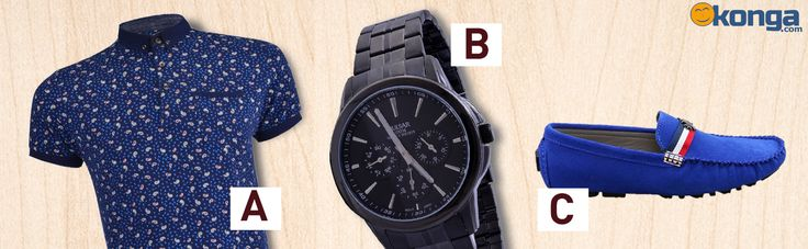 Casual Friday is your chance to show your sophisticated style.