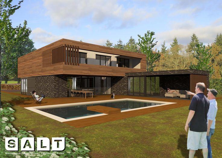 modern living #derboede #villa #architecture #natural