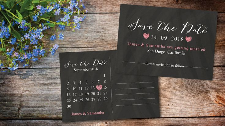 242 Best Save The Date Announcement Images On Pinterest